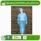 Wegwerf-SMS Spunlace pp. nichtgewebtes chirurgisches Kleid