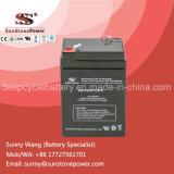 Bateria recarregavel de SLA recarregada de chumbo de manutenção livre selada 6V 5ah