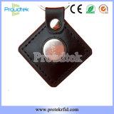 Touchez le bouton à puce de mémoire clé pour l'Identification en environnement difficile