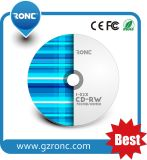 Grado in bianco del CD 52X un CD-R 700m con materiale secondario