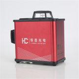 8ライン赤いビーム3 Anit回転式レーザーのレベル