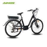 700c 250W unidade intermediária de bicicletas eléctricas da cidade para senhora
