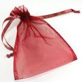 結婚祝いのドローストリングのオーガンザの小さい袋