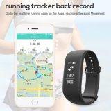 Sos van de Manier van het Tarief van het Hart van Bluetooth Telefoongesprek de Slimme Armband van de Manchet