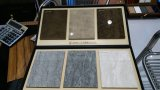 新しい大理石カラー台所家具のための紫外線パネルMDFのボード