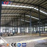 Estructura de acero prefabricada almacén taller de procesamiento de plástico