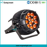 Indicatore luminoso del punto di alto potere 12PCS 14W Rgbawuv 6in1 LED