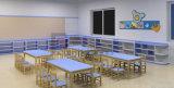 아이들과 유치원 가구를 위한 6명의 문 아이 저장 내각