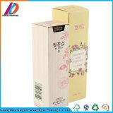 Rectángulo de empaquetado cosmético del pequeño papel del color del uso del cuidado de piel
