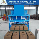 ネパールの製品は粘土の煉瓦押出機機械Hf4-10フルオートのセメントの煉瓦作成機械を使用した