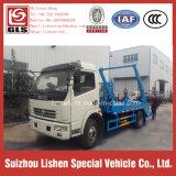 Het nieuwe Broodje van het Wapen van de Vuilnisauto van het Wapen van de Schommeling van Dongfeng van de Vuilnisauto de Collector van het Vuilnis van de Vrachtwagen van het Afval van 6 M3