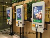 32inch het opdracht geven van tot Machine HD die de Digitale Signage Kiosk van de Betaling bevinden zich