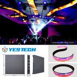 El panel de visualización curvado a todo color de LED de la serie mágica de la etapa de Yestech