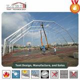 Спорт палатка с полигона на крыше для игры в бадминтон
