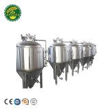 Het elektrische het Verwarmen Huis van de Apparatuur van het Bierbrouwen 200L