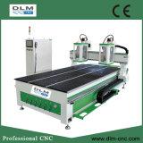 2 Fusos gravura do CNC e máquina de corte de máquinas para trabalhar madeira