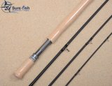 Precio mayorista Valuded Aaaa Mango de Corcho Spey Fly Fishing Rod
