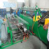 Cerca revestida los 2mx15m de la conexión de cadena del PVC