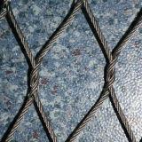 Звеец сетки веревочки нержавеющей стали сплетенный кабелем животный ограждая ячеистую сеть