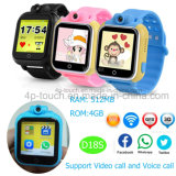 Het hete Verkopende 3G GPS van Jonge geitjes Horloge van de Drijver met de Vraag van de Stem D18s