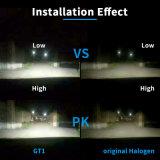 Neuester 4 Scheinwerfer des seitlichen Auto-LED bilden in der Fabrik mit Selbststoß- und VERSTECKTEN Vorschaltgeräten (H1 H3 H4 H7 H8 H9 H11 H16 50W 4800lm)