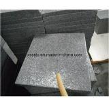 La pietra naturale G654 ha fiammeggiato le mattonelle di pavimentazione del granito per pavimentare