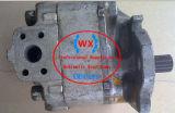 China hizo Komatsu piezas cargadora de ruedas OEM Bomba de engranajes de transmisión: 705-73-29010 piezas de repuesto de maquinaria de construcción