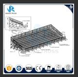 Lo stadio portatile dei Bleachers smontabili dello stadio di prezzi di fabbrica mette il Portable a sedere esterno d'acciaio