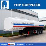 De Lading die van de titaan de Aanhangwagen van de Tanker van het Vervoer van de Olie van het Vervoer van de Ruwe olie van Tankers van brandstof voorzien