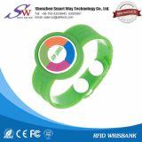 Wristband barato del PVC de la proximidad RFID