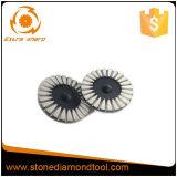 콘크리트를 위한 다른 크기에 의하여 소결되는 다이아몬드 가는 디스크 4 - 9 인치/컵 바퀴