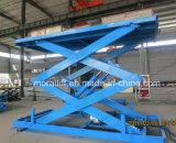China bajo precio y calidad de alta elevación de la Plataforma de tijera hidráulico