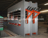 Panneaux chauds de machine/meubles de presse de stratifié de mélamine de contre-plaqué faisant à peau de porte de machine la machine chaude de presse