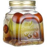 eine Serie geprägte Muster-Glasflasche für Speicherung und Essiggurken