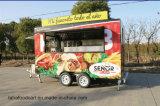 Carrello mobile dell'alimento del rimorchio dell'alimento di prezzi di fabbrica che cucina rimorchio