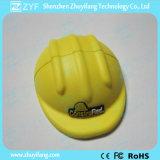 Logo (ZYF1053)를 가진 Safety 주문 Helmet Shape USB Flash Drive