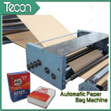 Sacco di carta automatico pieno dell'imballaggio che fa macchina