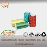 Filetto di cucito 100% del tessuto della tessile del filamento del poliestere del filetto del ricamo del rayon