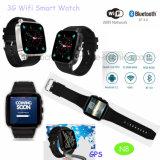 Bluetooth 3G 8g ROMが付いているスマートなWiFiの腕時計の電話N8