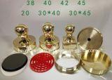 Zegel van uitstekende kwaliteit van de Flits van het Messing de Materiële, Messing 40