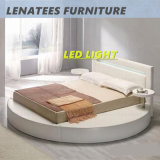 LED 빛을%s 가진 A508 현대 둥근 침대