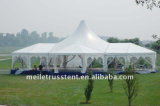 Kundenspezifisches dekoratives Futter-Partei-Hochzeits-Ereignis-Festzelt-Pagode-Zelt