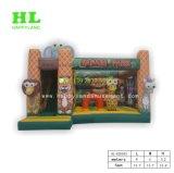 Sports das heißer Verkauf kundenspezifisches Safari-Park-Art-riesiges aufblasbares Kind-Springen kombiniert für Unterhaltung Übungen