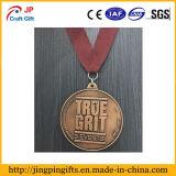 Deportes de la medalla de metal con diseño personalizado