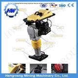 Peneiras Vibratórias Maço Jumping calcado maço 199 lbs com a Honda 5.5HP calcado maço do Compactador