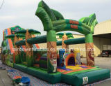 Sale (RB5065)のための商業Inflatable Jungle Obstacle