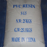 Resina bianca del PVC della polvere Sg-5 del grado del tubo di rendimento elevato con il prezzo poco costoso e la migliore qualità