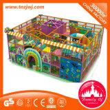 Постаретая дет игрушка пластмассы замока крытой спортивной площадки 3-12 капризная
