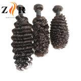 Cheveux humains ondulés de Remy de paquet indien réel de cheveu