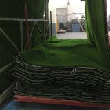 排水の穴が付いているSBRの乳液の背部による18mmの高さ18900の密度Lfg10の景色の人工的な草